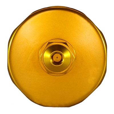 Catch Can, -10AN GV, NO BRACKET, GOLD Image 5