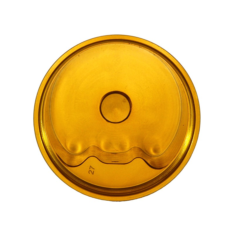 Catch Can, -10AN GV, NO BRACKET, GOLD Image 4