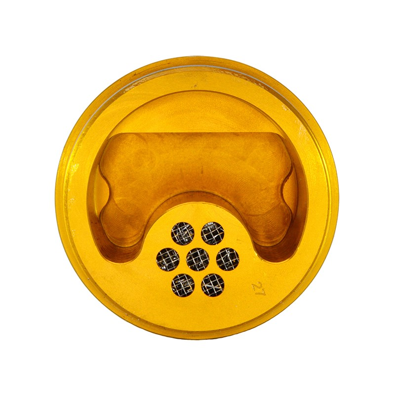 Catch Can, -10AN GV, NO BRACKET, GOLD Image 3