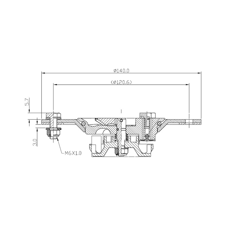 Fuel Cap, Billet Aluminum, SS Hardware Image 2