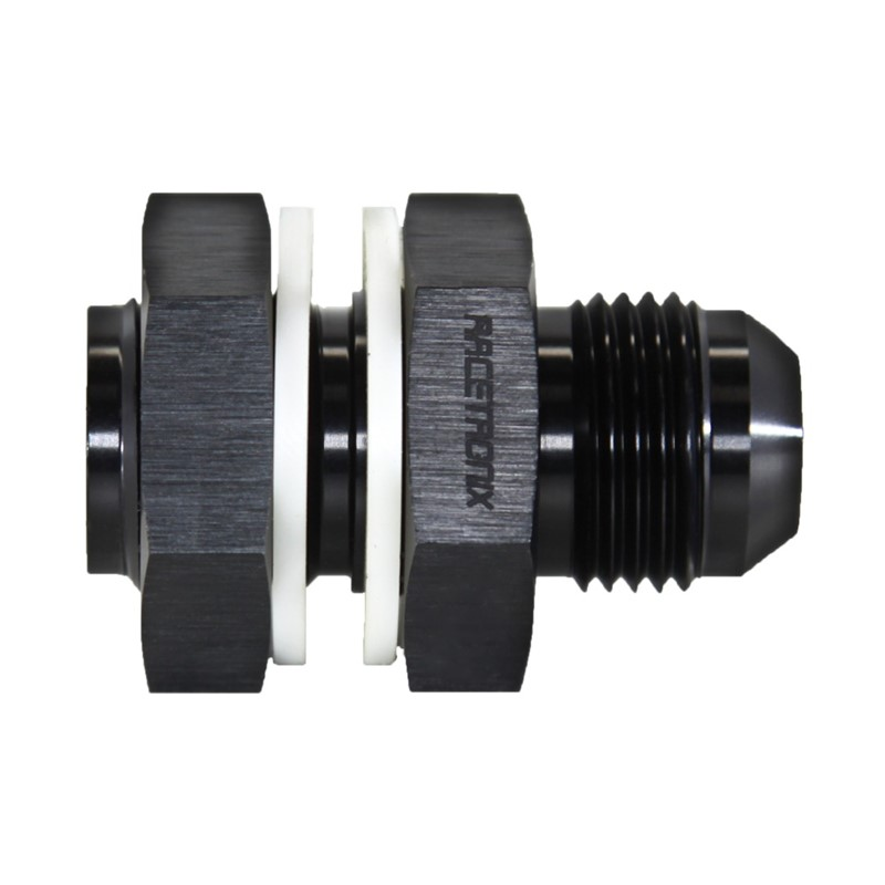 Fuel Cell Bulkhead, -10AN Male, BLACK Image 3