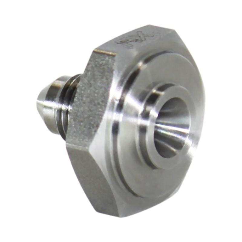 Weld Bung, -3AN Male, Hex Mild Steel Image 1