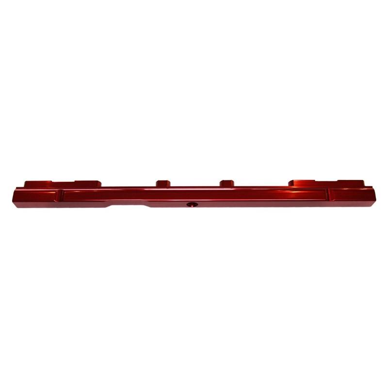 Fuel Rails, Billet Alm, Toyota 2JZ, RED Image 4