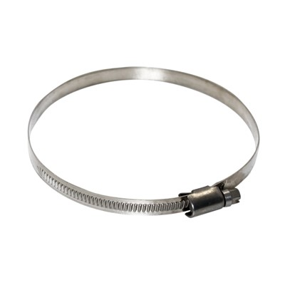 Hose Clamp, German 304SS, 9 x 80-100mm Image 1