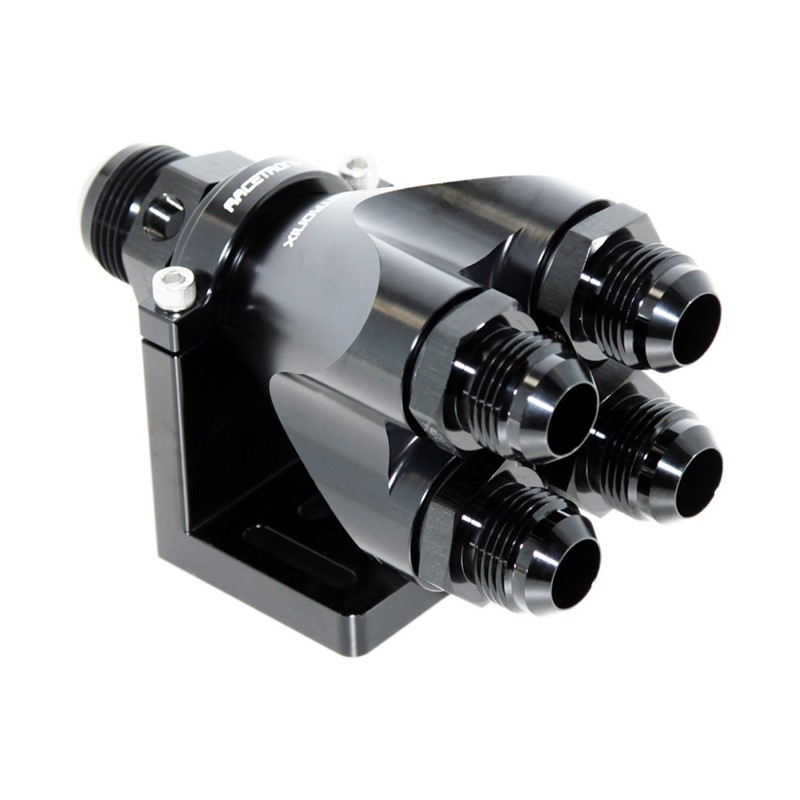 Quad Manifold, -16ORB»4x-12ORB, HAL BLK Image 7