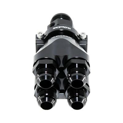 Quad Manifold, -16ORB»4x-12ORB, HAL BLK Image 8