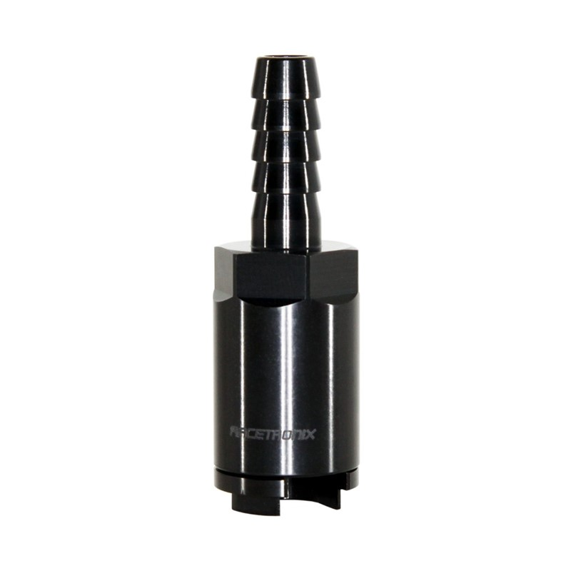 "Adapter, QDF 3/8"" » 3/8"" Barb, Black Image 4"
