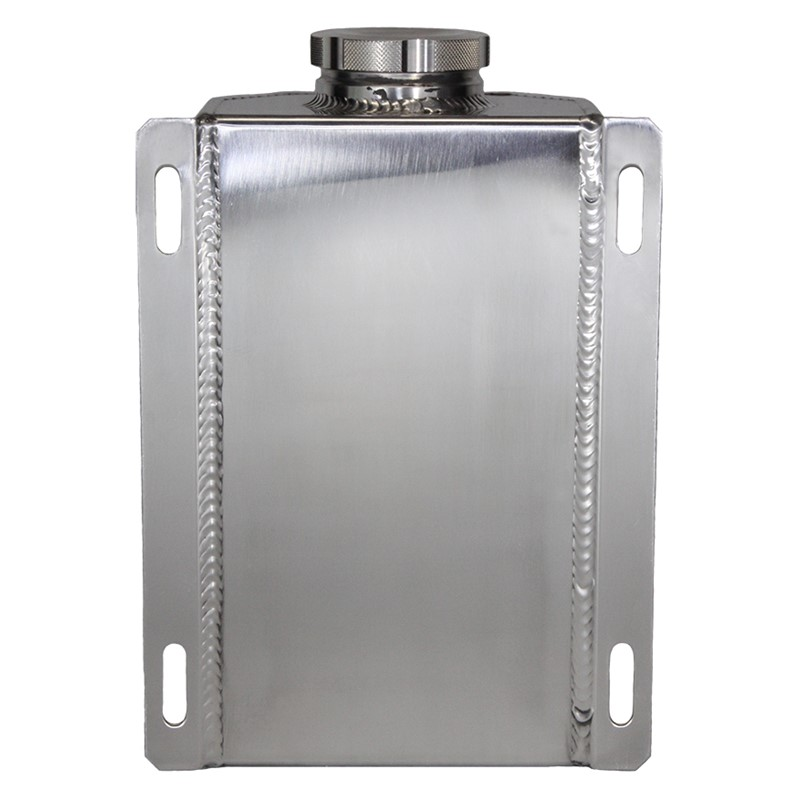 Catch Tank, 2L 10AN, Glass View Aluminum, Natural Image 1