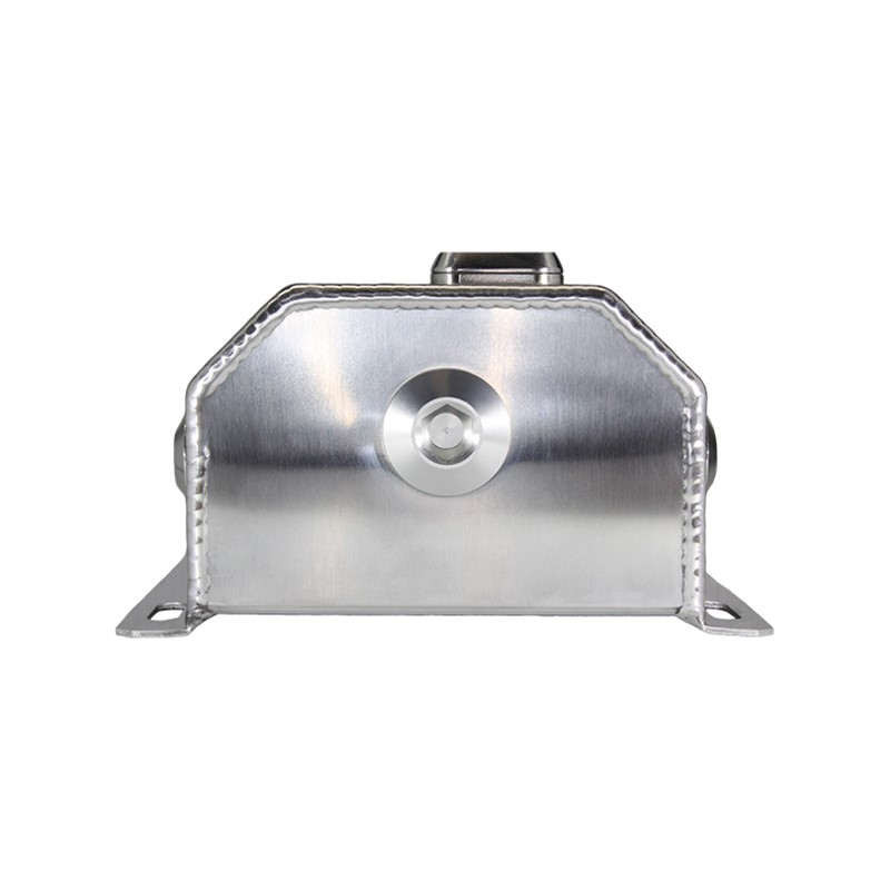 Catch Tank, 2L 10AN, Glass View Aluminum, Natural Image 2