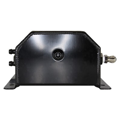 Catch Tank, 2 Litre 6AN, Aluminum, BLACK Image 2