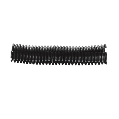 "Nylon Split Wire Loom, 1"" Black 10'"