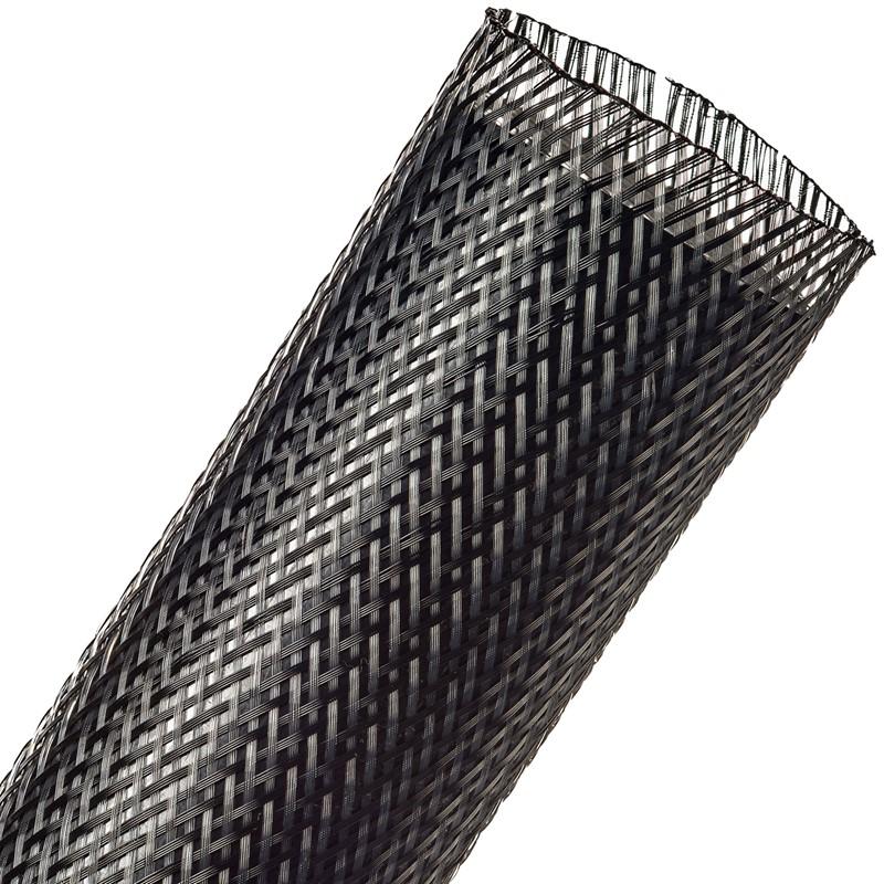 "Loom, PET Woven Expanding, 2.0"" Carbon"