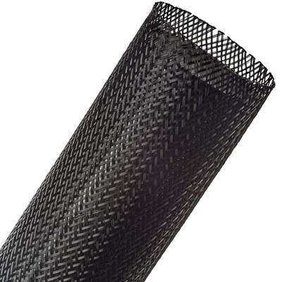 "Loom, PET Woven Expanding, 3.0"" Black"